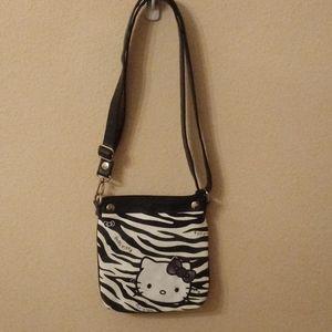 Hello Kitty Zebra Shoulder Tote
